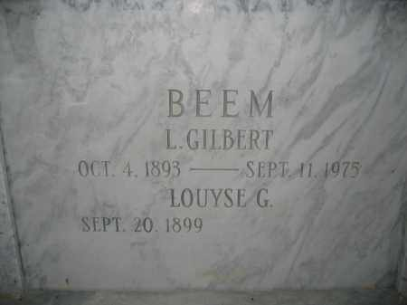 BEEM, LOUYSE G. - Union County, Ohio | LOUYSE G. BEEM - Ohio Gravestone Photos