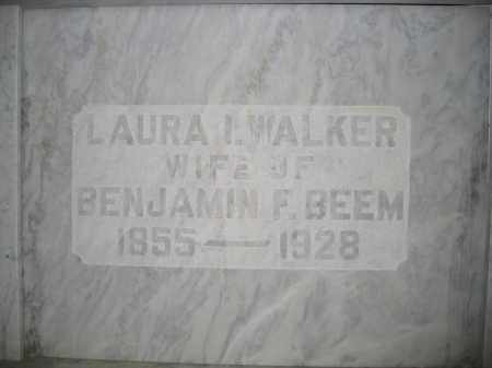 BEEM, LAURA I. WALKER - Union County, Ohio | LAURA I. WALKER BEEM - Ohio Gravestone Photos