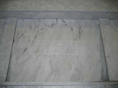 BEEM, LOUIS C. - Union County, Ohio   LOUIS C. BEEM - Ohio Gravestone Photos
