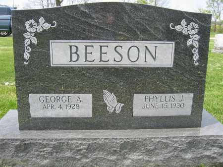 BEESON, GEORGE A. - Union County, Ohio | GEORGE A. BEESON - Ohio Gravestone Photos