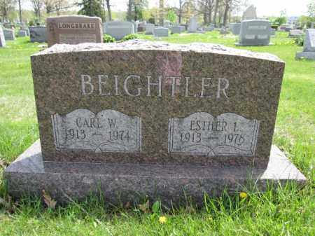 BEIGHTLER, ESTHER L. - Union County, Ohio | ESTHER L. BEIGHTLER - Ohio Gravestone Photos