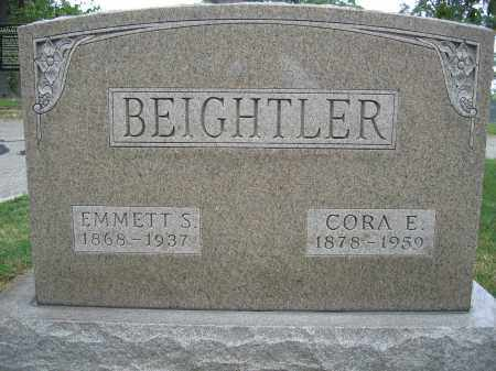 BEIGHTLER, CORA E. - Union County, Ohio | CORA E. BEIGHTLER - Ohio Gravestone Photos