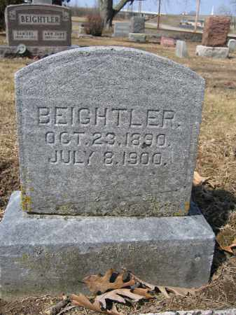 BEIGHTLER, FOREST - Union County, Ohio | FOREST BEIGHTLER - Ohio Gravestone Photos