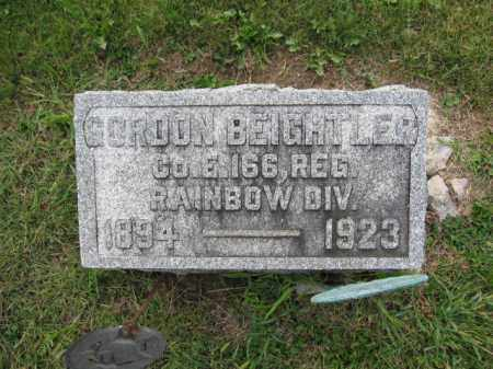 BEIGHTLER, GORDON - Union County, Ohio | GORDON BEIGHTLER - Ohio Gravestone Photos