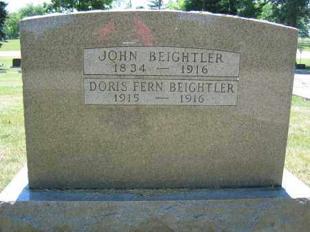 BEIGHTLER, JOHN - Union County, Ohio | JOHN BEIGHTLER - Ohio Gravestone Photos