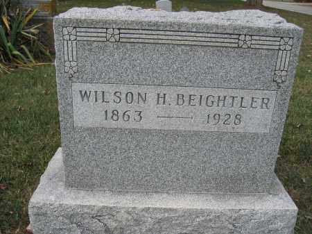 BEIGHTLER, WILSON H. - Union County, Ohio | WILSON H. BEIGHTLER - Ohio Gravestone Photos