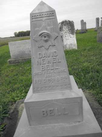 BELL, DAVID NEWELL - Union County, Ohio | DAVID NEWELL BELL - Ohio Gravestone Photos