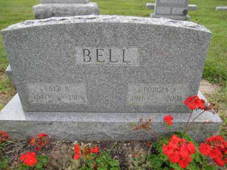 BELL, EBER B. - Union County, Ohio | EBER B. BELL - Ohio Gravestone Photos