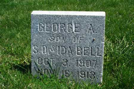 BELL, GEORGE A. - Union County, Ohio | GEORGE A. BELL - Ohio Gravestone Photos