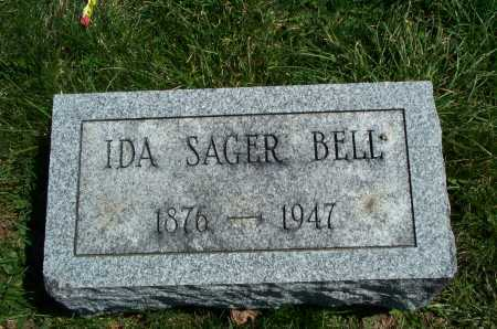 BELL, IDA SAGER - Union County, Ohio | IDA SAGER BELL - Ohio Gravestone Photos