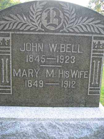 BELL, JOHN W. - Union County, Ohio | JOHN W. BELL - Ohio Gravestone Photos