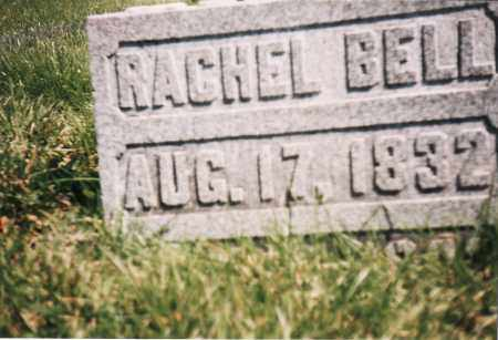 BELL, RACHEL - Union County, Ohio | RACHEL BELL - Ohio Gravestone Photos