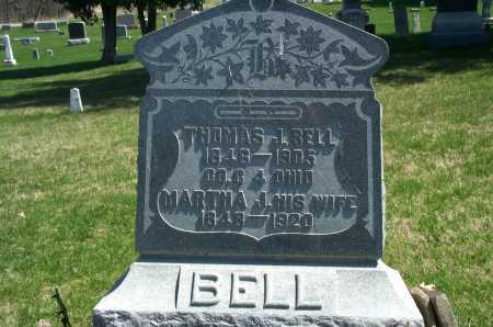 BELL, MARTHA J. - Union County, Ohio | MARTHA J. BELL - Ohio Gravestone Photos