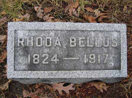 BELLUS, RHODA - Union County, Ohio | RHODA BELLUS - Ohio Gravestone Photos
