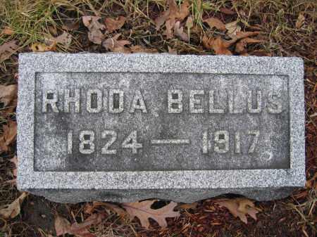 BELLUS, RHODA - Union County, Ohio   RHODA BELLUS - Ohio Gravestone Photos