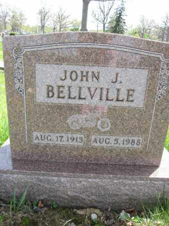BELLVILLE, JOHN J. - Union County, Ohio | JOHN J. BELLVILLE - Ohio Gravestone Photos