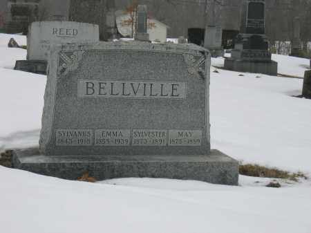 BELLVILLE, SYLVANUS - Union County, Ohio | SYLVANUS BELLVILLE - Ohio Gravestone Photos