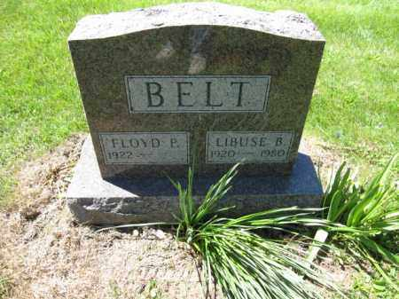 BELT, LIBUSE B. - Union County, Ohio | LIBUSE B. BELT - Ohio Gravestone Photos