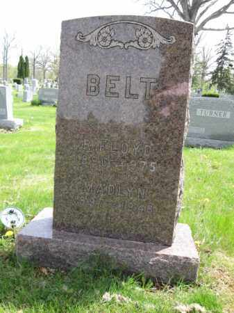 BELT, R. FLOYD - Union County, Ohio | R. FLOYD BELT - Ohio Gravestone Photos