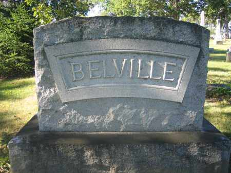 BELVILLE, NICHOLAS - Union County, Ohio | NICHOLAS BELVILLE - Ohio Gravestone Photos