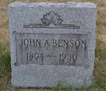 BENSON, JOHN A. - Union County, Ohio | JOHN A. BENSON - Ohio Gravestone Photos