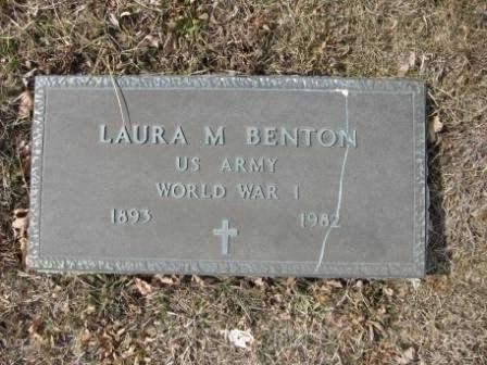 BENTON, LAURA M. - Union County, Ohio | LAURA M. BENTON - Ohio Gravestone Photos