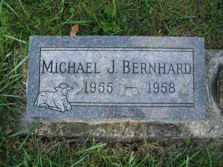 BERNHARD, MICHAEL J. - Union County, Ohio | MICHAEL J. BERNHARD - Ohio Gravestone Photos