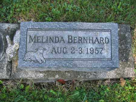 BERNHARD, MELINDA - Union County, Ohio | MELINDA BERNHARD - Ohio Gravestone Photos