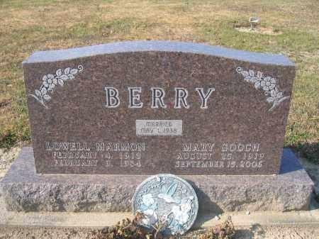 BERRY, LOWELL MARMON - Union County, Ohio | LOWELL MARMON BERRY - Ohio Gravestone Photos