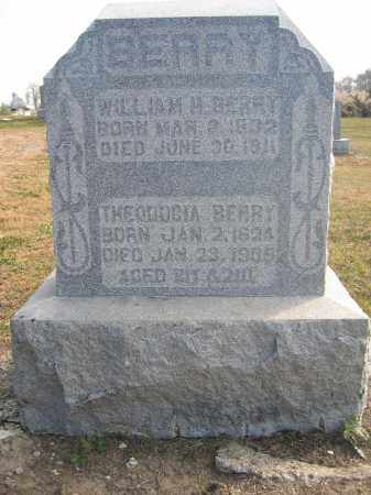 BERRY, WILLIAM H. - Union County, Ohio | WILLIAM H. BERRY - Ohio Gravestone Photos