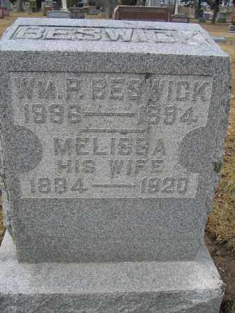 BESWICK, MELISSA - Union County, Ohio | MELISSA BESWICK - Ohio Gravestone Photos