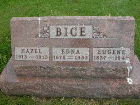 BICE, EDNA - Union County, Ohio | EDNA BICE - Ohio Gravestone Photos