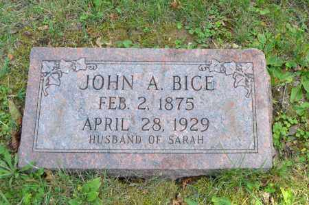 BICE, JOHN A. - Union County, Ohio | JOHN A. BICE - Ohio Gravestone Photos