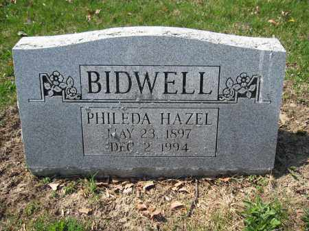 BIDWELL, PHILEDA HAZEL - Union County, Ohio | PHILEDA HAZEL BIDWELL - Ohio Gravestone Photos