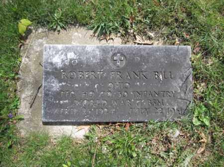 BILL, ROBERT FRANK - Union County, Ohio   ROBERT FRANK BILL - Ohio Gravestone Photos