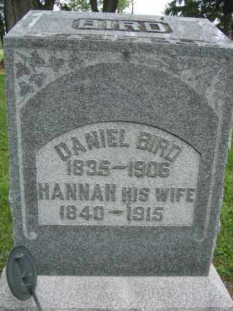 BIRD, HANAH - Union County, Ohio | HANAH BIRD - Ohio Gravestone Photos