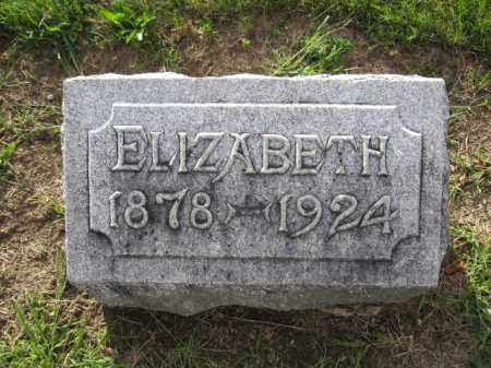 BISHOP, ELIZABETH - Union County, Ohio | ELIZABETH BISHOP - Ohio Gravestone Photos
