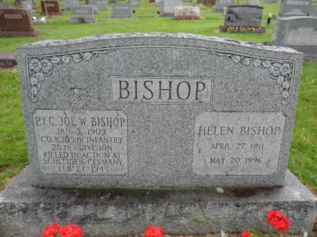 BISHOP, JOE W. - Union County, Ohio | JOE W. BISHOP - Ohio Gravestone Photos