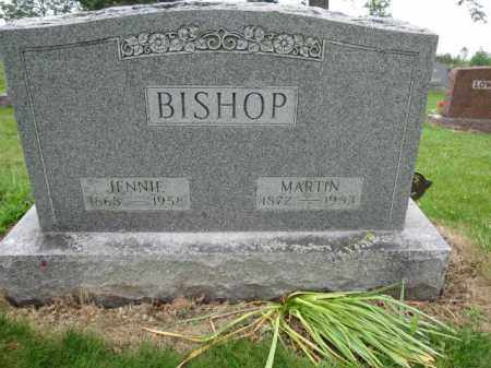 BISHOP, JENNIE - Union County, Ohio | JENNIE BISHOP - Ohio Gravestone Photos