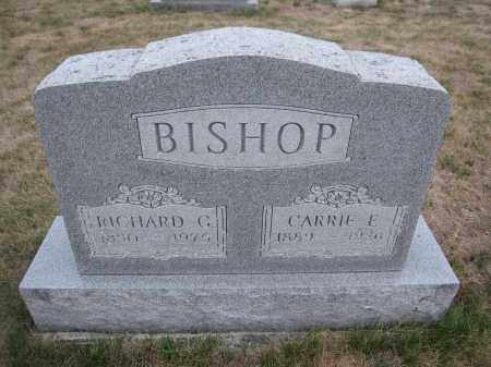 BISHOP, CARRIE E. - Union County, Ohio | CARRIE E. BISHOP - Ohio Gravestone Photos