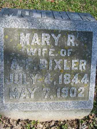 BIXLER, MARY R - Union County, Ohio | MARY R BIXLER - Ohio Gravestone Photos