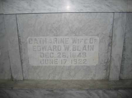 BLAIN, CATHARINE - Union County, Ohio | CATHARINE BLAIN - Ohio Gravestone Photos