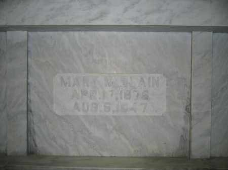 BLAIN, MARY M. - Union County, Ohio | MARY M. BLAIN - Ohio Gravestone Photos
