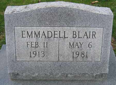 BLAIR, EMMADELL - Union County, Ohio | EMMADELL BLAIR - Ohio Gravestone Photos