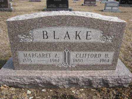 BLAKE, MARGARET Z. - Union County, Ohio | MARGARET Z. BLAKE - Ohio Gravestone Photos