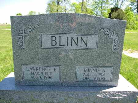 BLINN, MINNIE A. - Union County, Ohio | MINNIE A. BLINN - Ohio Gravestone Photos