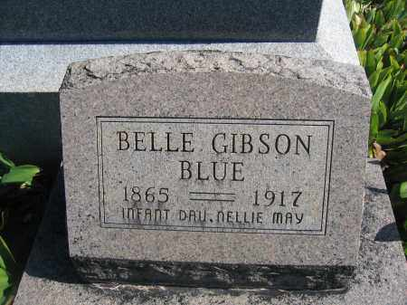 BLUE, BELLE GIBSON - Union County, Ohio | BELLE GIBSON BLUE - Ohio Gravestone Photos