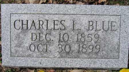 BLUE, CHARLES L. - Union County, Ohio | CHARLES L. BLUE - Ohio Gravestone Photos