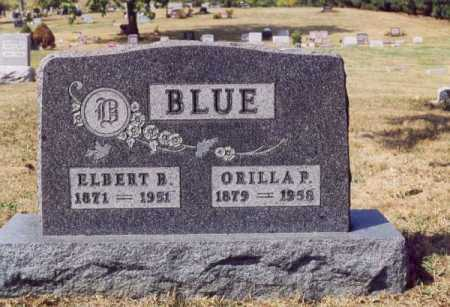 BLUE, ORILLA P - Union County, Ohio | ORILLA P BLUE - Ohio Gravestone Photos