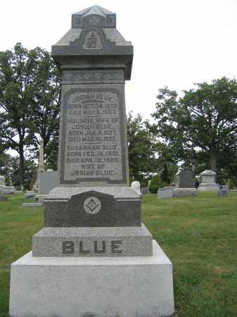 BLUE, SUSANNAH - Union County, Ohio | SUSANNAH BLUE - Ohio Gravestone Photos